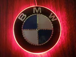 Foto 6 BMW EMBLEM Swarovski Desing veredelt(Handarbeit)mit LED