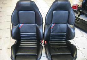 BMW Sitzausstattung M3 E36 Coupe Sitze Leder schwarz