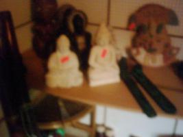 BUDDAFIGUREN In Rothenberg Von Privat Sammlermodell