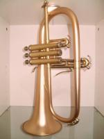 Foto 6 B & S 3145 G - E Goldmessing Elaboration Flügelhorn - Made in Germany - Neuware.