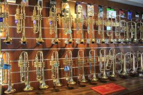 Foto 3 B & S Challenger II Profiklasse - Trompete 3137/2 L Neuware / OVP mit Zubehör