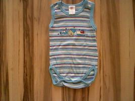 Baby Body, Größe: 50/56 www.roteerdbeere.com #baby #body #blau