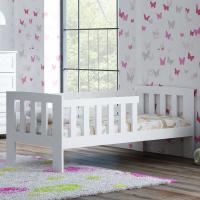 Foto 2 Babybett Bett Lattenrost WEIß KIEFER MM010 70x160/NA/WE
