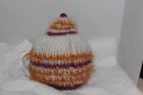 Foto 12 Babymützen in Wolle und Baumwolle handgearbeitet