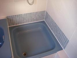Foto 5 Bad, Dusche.Silikonfugen, Silikon, Feuchtigkeit, Fugentechnik Sanierung von Silikonfugen bzw. Fliesenfugen