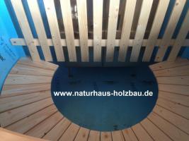 Foto 18 Badezuber, Badefass, Hottub, Hot Tub, Heizbadefass, Badefässer, Heizbadefässer, ..
