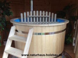 Foto 19 Badezuber, Badefass, Hottub, Hot Tub, Heizbadefass, Badefässer, Heizbadefässer, ..