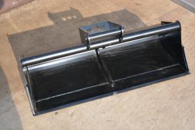 Baggerlöffel 0,8 - 2,0 Tonnen Breite 120cm Gewicht 72 kg Neu Minibagger Zubehör