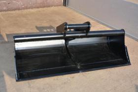 Foto 2 Baggerlöffel 0,8 - 2,0 Tonnen Breite 120cm Gewicht 72 kg Neu Minibagger Zubehör