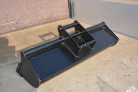 Foto 3 Baggerlöffel 0,8 - 2,0 Tonnen Breite 120cm Gewicht 72 kg Neu Minibagger Zubehör