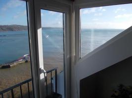 Foto 2 Balkon über dem Meer/Cornwall/Pilcher-land
