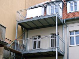 Balkon Vorsatzbalkon Stahl 2Stück