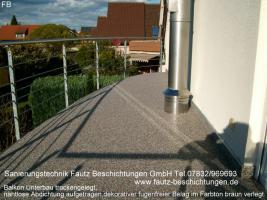 Balkongelander Schadhaft Rostig Terrassengelander Schadhaft Rostig