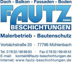 Balkonsanierung, Balkonabdichtung, Balkonbodenbeläge, Terrassensanierung, Terrassenabdichtung, Terrassenbeläge, Betonsanierung, Kuppenheim, Gaggenau, Bischweier, Bad Rotenfels, Baden Baden, Staufenberg, Sulzbach, Sandweier, Fautz Beschichtungen GmbH  Tel.07832/969693