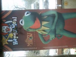 Banner zum 25 jährigen Jubiläum der Muppet Show (ca. 9 Jahre alt)