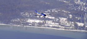 Foto 3 Banner-Flugwerbung: die effektiven himmlischen Grüße aus dem Bodenseeraum und auch deutschlandweit