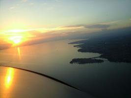 Foto 11 Banner-Flugwerbung: die effektiven himmlischen Grüße aus dem Bodenseeraum und auch deutschlandweit