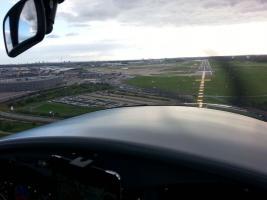 Foto 2 Bannerflugwerbung im Bodenseeraum