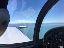 Foto 5 Bannerflugwerbung im Bodenseeraum
