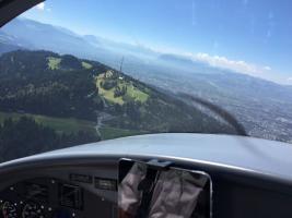 Foto 6 Bannerflugwerbung im Bodenseeraum