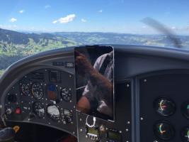 Foto 8 Bannerflugwerbung im Bodenseeraum