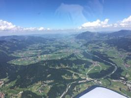 Foto 9 Bannerflugwerbung im Bodenseeraum
