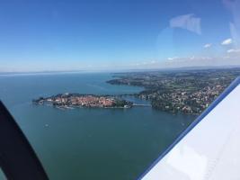 Foto 10 Bannerflugwerbung im Bodenseeraum