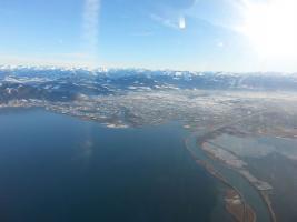 Foto 11 Bannerflugwerbung im Bodenseeraum
