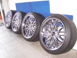 Barracuda Voltec T6 Real-Chrom Felgen 18 zoll für BMW