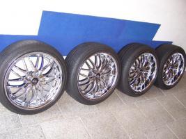 Foto 2 Barracuda Voltec T6 Real-Chrom Felgen 18 zoll für BMW