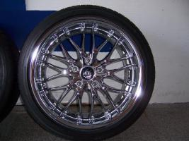 Foto 3 Barracuda Voltec T6 Real-Chrom Felgen 18 zoll für BMW
