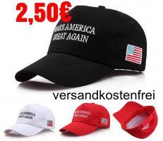 Base Cap Donald Trump 2,50€ frei Haus Make America Great Again