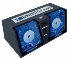 Bassbox Soundstream Tarantula-TR-Serie TR-212BP 2x30cm Dual-Bandpass System