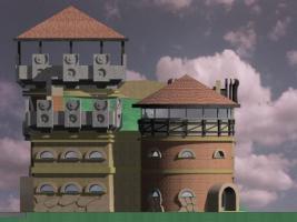 Bauen wir Märchenschloss in Villa Inbegriffen