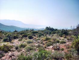 Foto 3 Baugrundstück mit Meer- und Bergsicht, auch teilbar