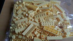 Foto 5 Bausteine verschiedene Farben, lego kompartibel