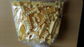 Foto 6 Bausteine verschiedene Farben, lego kompartibel