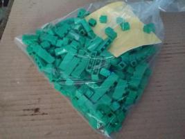 Foto 3 Bausteine verschiedene Farben, lego kompartibel