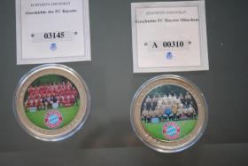 Bayern München Medaillien