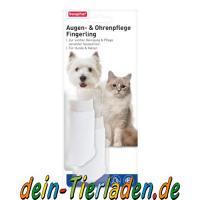 Beaphar Augen- & Ohrenpflege Fingerling Hund, 2 Stück