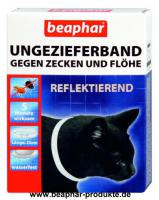 Beaphar Reflektierendes Ungezieferband Katze, 35cm