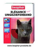 Foto 2 Beaphar Reflektierendes Ungezieferband Katze, 35cm
