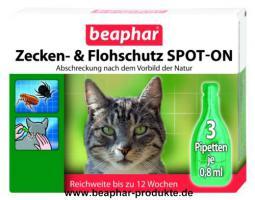 Foto 2 Beaphar Zecken- und Flohschutz Halsband Katze, 35cm ''Nach dem Vorbild der Natur''