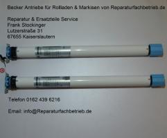 Foto 2 Becker Rollladen Motor Antrieb R 12/17 M von Reparaturfachbetrieb.de