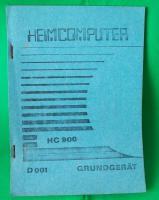 Bedienungsanleitung für den HC900