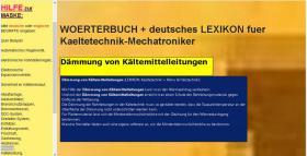 Foto 3 Begriffe Kaeltetechnik + Klimatechnik uebersetzen: deutsch-englisch-franzoesisch Woerterbuch