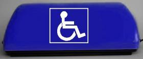 Behinderten Transport Leuchte mit Led Lampe für Taxi
