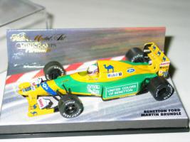 Foto 2 Benetton Ford B192 Martin Brundle Top OVP