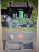 Foto 6 Benzinkocher . Vorgestellt von Sergant Spies Survival Training