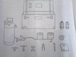 Foto 9 Benzinkocher . Vorgestellt von Sergant Spies Survival Training